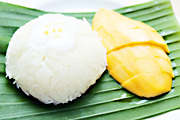 Sticky Rice with Ripe Mango