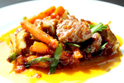 Stir-Fried Pork with Thai Roasted Chilies Paste
